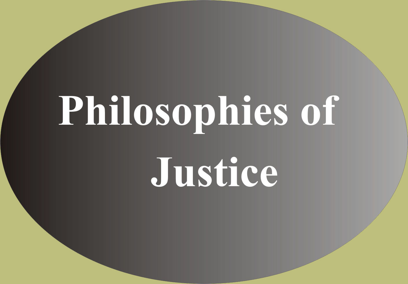 Philosophies of Justice