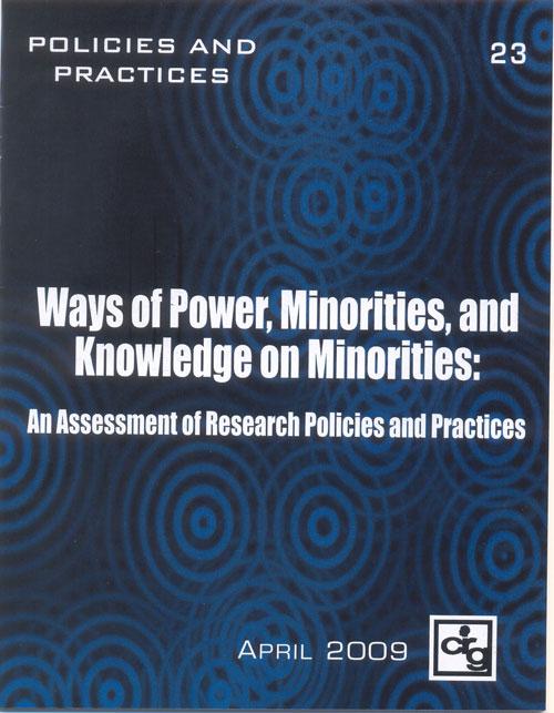 essays on minorities